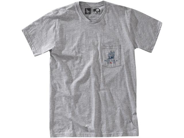Hippy Tree Grovewood T-shirt Herrer, heather grey